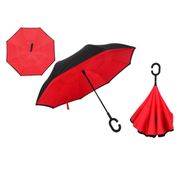 Reverse Folding Windproof Umbrella